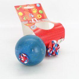 Gumový míček Akinu plný s poutkem