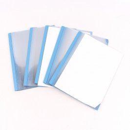 Modrý papírový šanon 6 ks