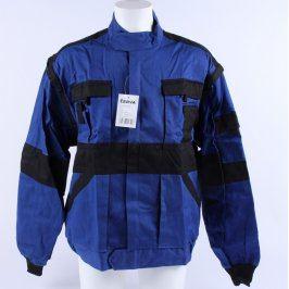 Pracovní bunda Červa černomodrá