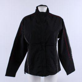 Dámská bunda černá s barevnou linkou