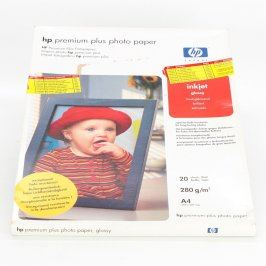 Fotopapíry HP A4 280 g/m2 lesklé 20 ks