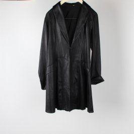 Dámský kabát dlouhý odstín černé
