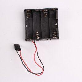Pouzdro na baterie 4 x AA