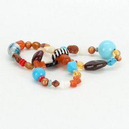 Dámský náramek na gumičce s kamínky 3 kusy
