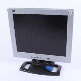 LCD monitor AOC LM720A stříbrný