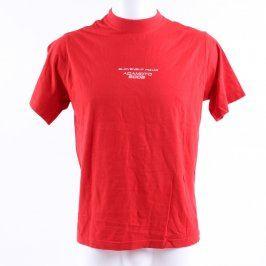 Pánské tričko Adler odstín červené