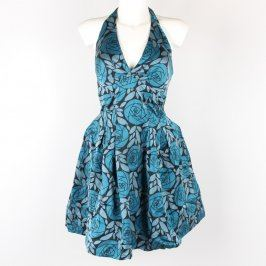 Dámské šaty Warehouse Spotlight odstín modré
