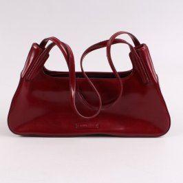 Dámská kabelka Guess koženková hnědočervená