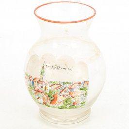 Malovaná váza Česká Třebová