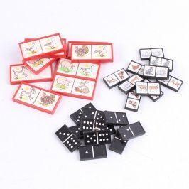 Dětská hra domino klasické + zvířátkové