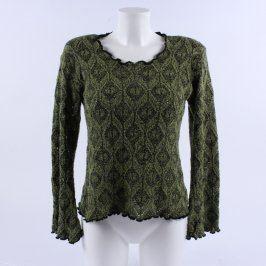 Dámský svetr Elisabeth odstín zelené