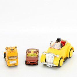 Modely aut: závoďák, tahač, auto