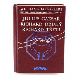 Kniha J.Caesar/Richard II./III. Shakespeare
