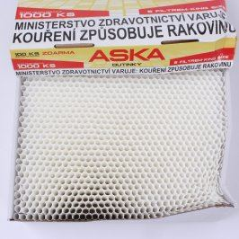 Dutinky Aska s filtrem king size