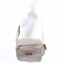 Crossbody taška Omeda odstín béžové