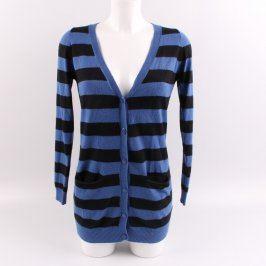 Dámský svetr New Look černomodrý pruhovaný