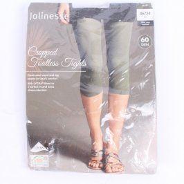 Capri legíny Jolinesse khaki