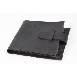 Pouzdro na CD koženkové černé