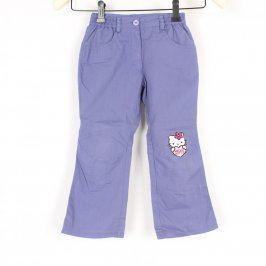 Dětské kalhoty Kiki&Koko modré s Hello Kitty