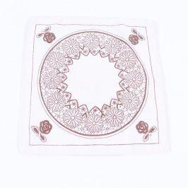 Ubrousek textilní s potiskem 30 x 30 cm