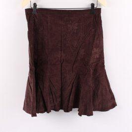 Dámská sukně Orsay odstín hnědé