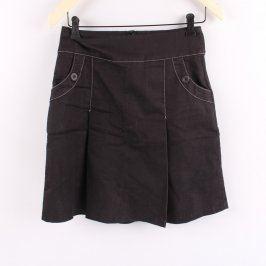 Dámská černá sukně Orsay