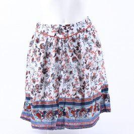 Dámská sukně Orsay bílá s květinami