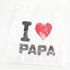 Čepice s nápisem I love papa