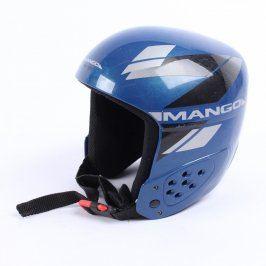 Lyžařská sportovní helma Mango modrá
