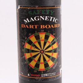 Magnetický terč se šipkami
