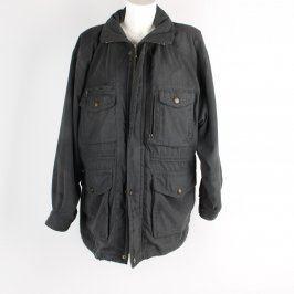 Pánská bunda odstín černé