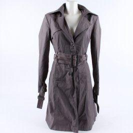 Dámský kabát GATE Basic odstín šedé