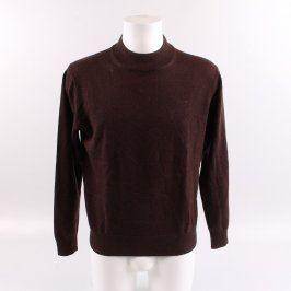 Pánský svetr Blažek odstín hnědé