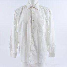 Pánská košile bílá s dlouhými rukávy