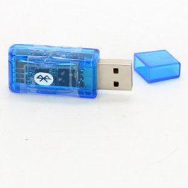 Univerzální bluetooth adaptér modrý