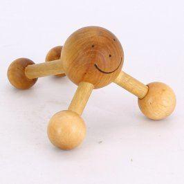 Masážní kuličky ruční dřevěné
