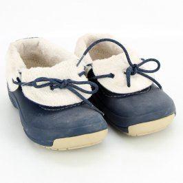 Dětské boty Crocs tmavě modré