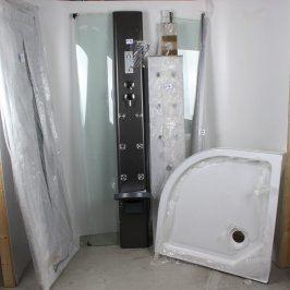 Sprchový box Fresh Low Stone masážní