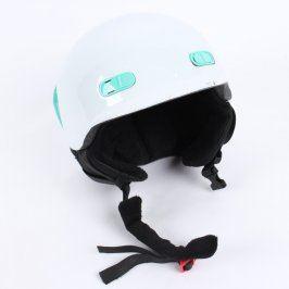 Dětská helma na lyže a snowboard bílá