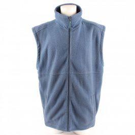 Pánská vesta flísová odstín modré