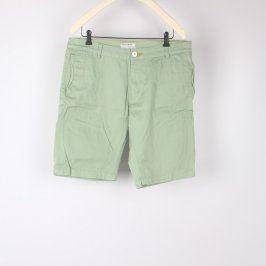 Pánské šortky Review odstín zelené