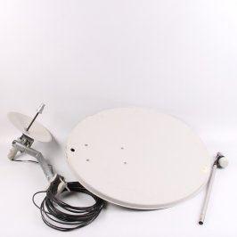 Satelitní anténa 80cm s LNB + WiFi anténa