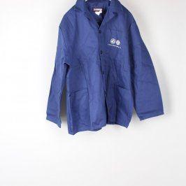 Pracovní bunda odstín modré