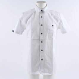 Pánská košile Reward bílá s nápisy na zádech