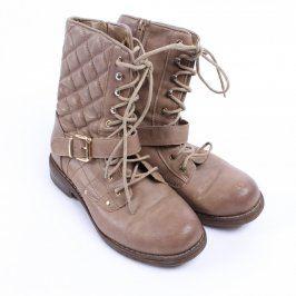 Dámské zimní boty Jenny Fairy světle hnědé