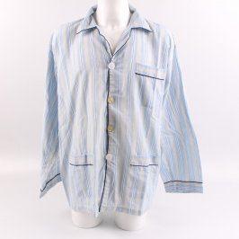 Pánský vršek od pyžama odstín modré