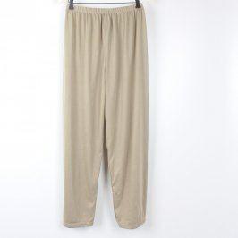 Kalhoty od pyžama pánské odstín béžový