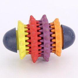 Gumová hračka pro psy barevná