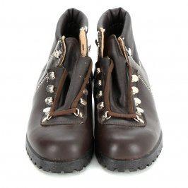 Dámská kotníčková obuv kožené pohorky