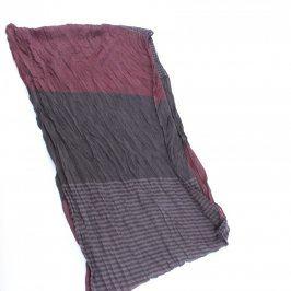 Dámská šála odstín fialovo šedé